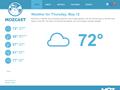 Screenshot du site MozCast
