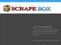 Screenshot du site ScrapeBox