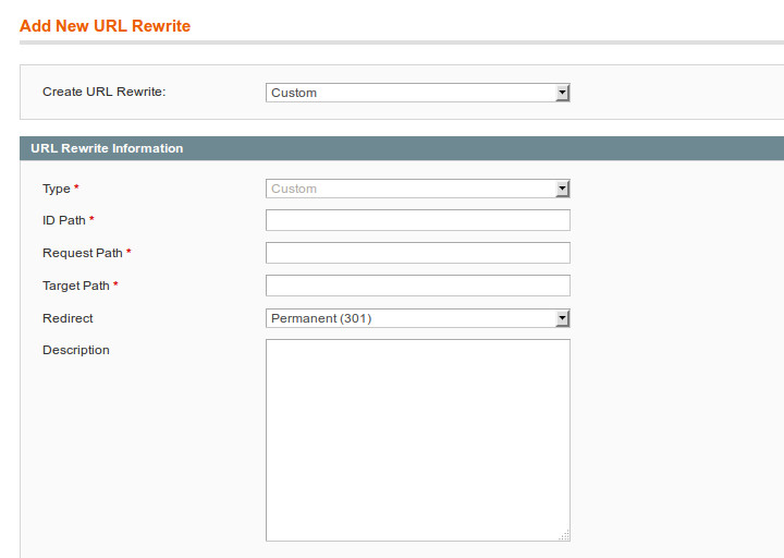 Ajouter une redirection 301 sur Magento