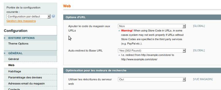Option Rewrite Magento